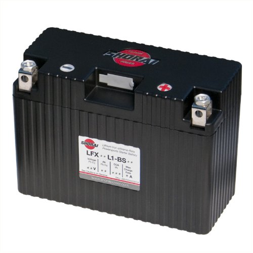 Shorai LFX18L1-BS12 Extreme Rate Lithium Iron Powersports Battery by Shorai