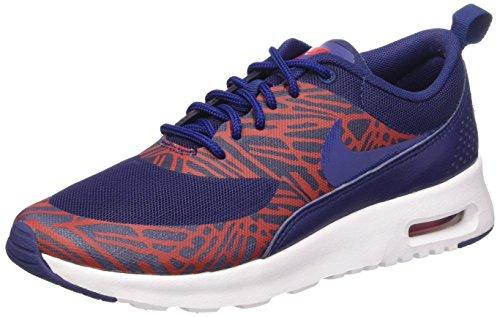 Nike Damen Air Max Thea Laufschuhe Blau Rot