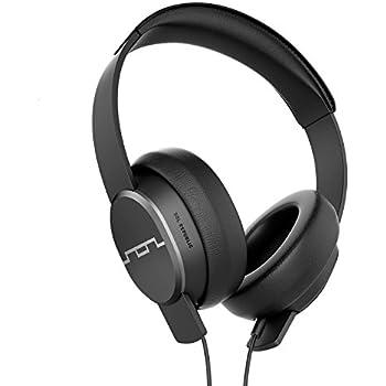 "SOL REPUBLIC Master Tracks X3 Over-Ear Headphones – Noise Isolation, Club Like Sound,  Mic + Music & Siri Control, 1/4"" Adapter, Virtually Indestructible, 1601-30 Gunmetal"