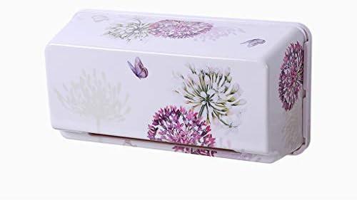GYCOZ Tissue-Box für den Haushalt Kreative Wandbehangablage Nautical Tray Aufbewahrungsbox für Badezimmer Zwei Ausführungen erhältlich Tissue Box Cover Gesicht (Color : A)