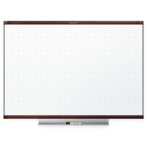 Mahogany Frame Whiteboard (Quartet Prestige 2 Total Erase Whiteboard, 4 x 3 Feet, Mahogany Finish Frame)