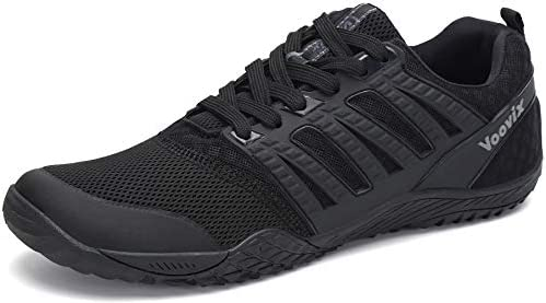 Voovix Men's Minimalist Trail Running Barefoot Shoes Wide Women's  Cross-Trainer Shoe Wide Toes Box(Black, 40): Buy Online at Best Price in  UAE - Amazon.ae