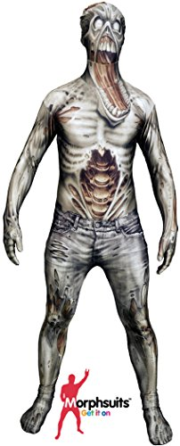 The Zombie Monster Morphsuit Kids Costume (Zombie Kid Costume)