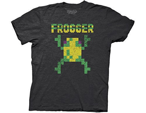 Vintage Distressed Frogger Frog T-shirt for Adults