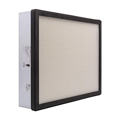 "Pollution Control Unit (PCU) HEPA Filter. Includes perimeter gasket and faceguard back screen (16"" x 20"" x 4"")"