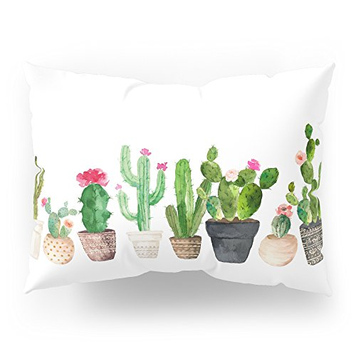 Society6 Cactus Pillow Sham Standard (20'' x 26'') Set of 2 by Society6