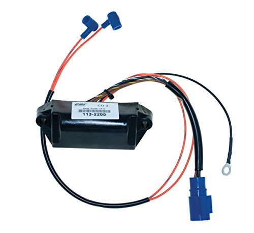(Johnson Evinrude Power Pack and RPM 20 Hp 1985 - 1988 Model Elect Start 2 Cyl WSM 113-2285 CD2 NO LIMIT OEM# 18-5763, 18-5765, 396141, 582281, 582285, 582502)