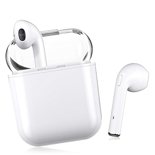 Bluetooth Headsets Wireless Headsets 5.0 Headset Bluetooth in-Ear Earphone Wireless Stereo in-Ear Handsfree for Apple Airpods Android/iPhone