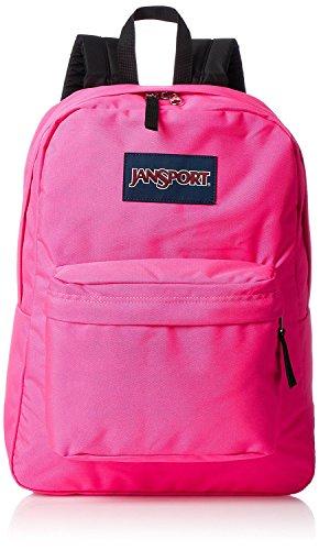 JanSport Superbreak Backpack - Ultra Pink - Classic, Ultralight by JanSport