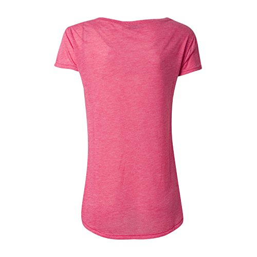 "T-Shirt ""Don´t worry,be hippie"" - von Miss goodlife - Farbe Pink"