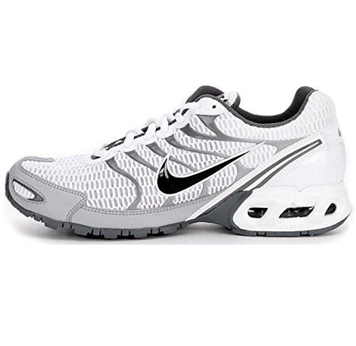 Nike Mens Air Max Torch 4 Running Shoe (7 D(M) US, White/Anthracite/Wolf Grey)