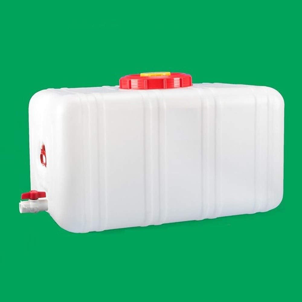大型水キャニスター蛇口キャンピングカー水キャリア屋外厚手のプラスチックキャンプバケット付きポータブル水貯蔵容器 28L/48L/80L/110L/160/200L (Size : 200l)  200l