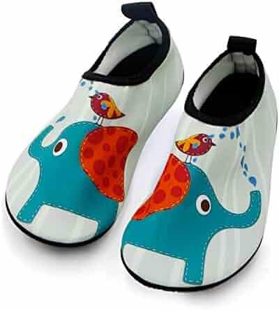 cc9c0272baf Kids Water Shoes Barefoot Quick Dry Aqua Socks Swim Shoes for Boys   Girls