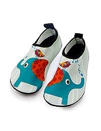 Kids Water Shoes Barefoot Quick Dry Aqua Socks Swim Shoes for Boys & Girls