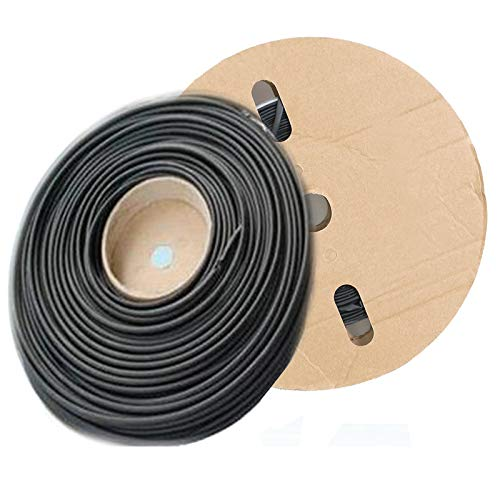 Original Version 3mm I.D Polyolefin 2:1 Heat Shrink Tubing Lucksender 100 Feet//30 Meter 1//8inch