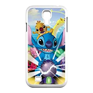 Samsung Galaxy S4 9500 Cell Phone Case White Lilo and Stitch 2 Stich Has a Glitch S0396736