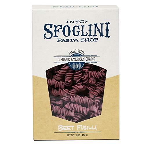 Sfoglini Pasta - Beet Fusilli, 16oz (2-PACK) (Art Institute Of New York Culinary Arts)