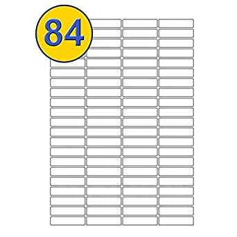 A4 White Self Adhesive Blank Delivery Address Labels Shipping Mailing Labels
