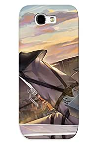 Hot Style LynbcrP4076ENfGr Protective Case Cover For Galaxynote 2(eren Yeager - Attack On Titan ) For Thanksgiving Day's Gift
