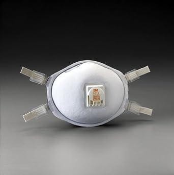 3 MTM soldadura respirador de partículas 8212, 80 unidades (Packs de 10, 8
