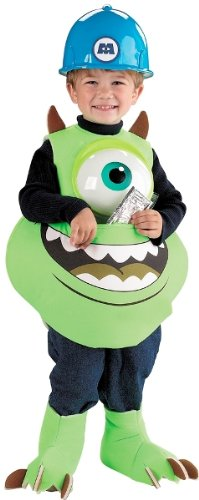 (Mike Candy Catcher Costume,Fits up to size)
