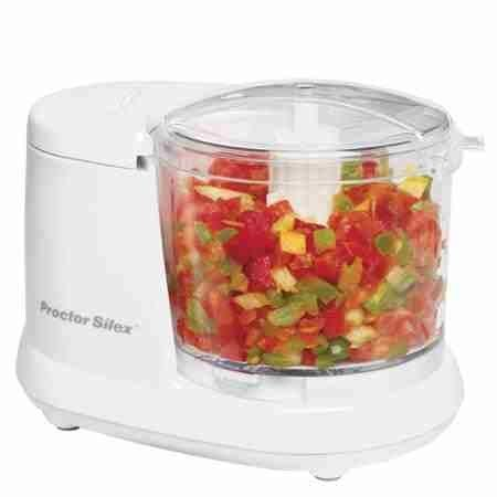 Procter Silex 1-1/2-Cup Food Chopper, White