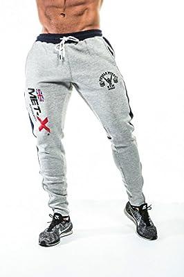 met-x Apparel Gym Supreme - Pantalón de Deporte para Entrenamiento ...