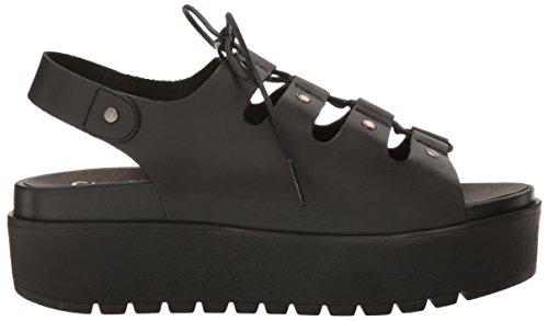 Shellys London Women's Kacey Platform Sandal Black discount good selling really cheap shoes online ilNbDfrSD