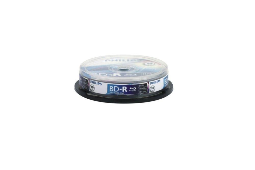 20pk Dvdr 8cm 4x 30min (vf) Philips - Battery and Media DM1S4B20F/17 Blank Media & Cleaning Cartridges