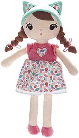Eureka Kids- Kirumy Aby Muñeca de Trapo, 38 cm (Eurekakids 6900011.0): Amazon.es: Juguetes y juegos