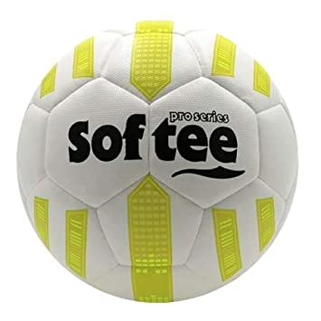 Balon Futbol HIBRIDO Softee MAX - Futbol 11 - Color Blanco Y ...