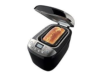 PANIFICADORA SILVERCREST NEGRA LCD MAQUINA PAN 12 FUNCIONES 750-1250 GR PAN