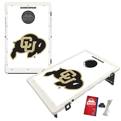 Victory Tailgate Colorado Buffaloes Baggo Cornhole Boards Set, NCAA Classic (Includes Matching Bags!)