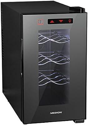 Weintemperierschrank//Nutzinhalt 21 Liter Temperatur zwischen 7°C-18°C//A+