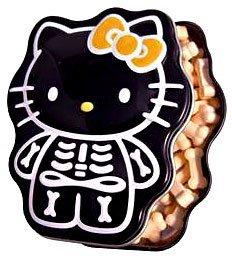 Hello Kitty Candy Tin Sour Orange Skelly