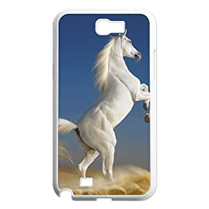 GGMMXO Horse Shell Phone Case For Samsung Galaxy Note 2 N7100 [Pattern-2]
