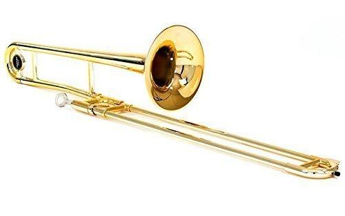 Tromba TRB-GO Plastic Trombones, Bb Tenor, Gold