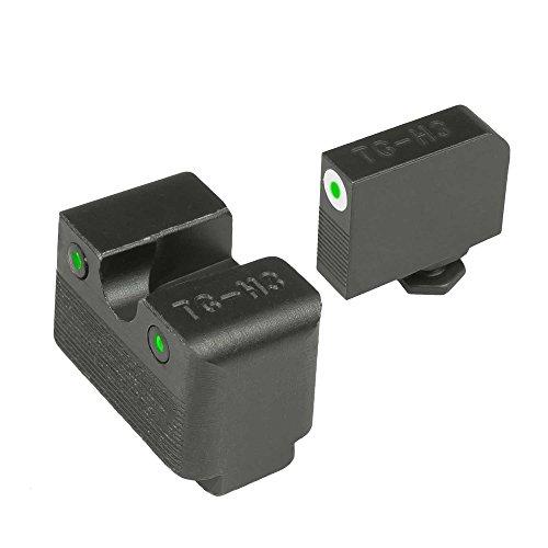 TRUGLO TG231G1MW Tritium Pro Handgun Sight - Glock Low MOS by TRUGLO