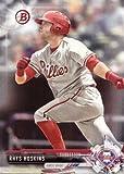 2017 Bowman Prospects #BP117 Rhys Hoskins Philadelphia Phillies Baseball Card