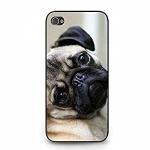 Interesting Unique Pug dog Phone Case Cover For Iphone 5/5S