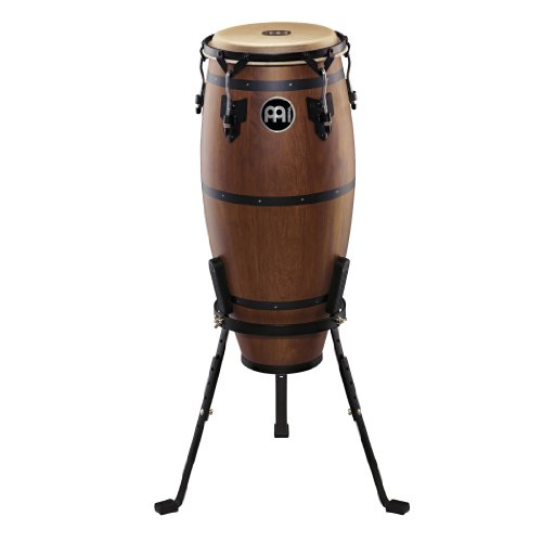 Meinl Percussion HTC10WB-M Headliner Traditional Designer Series 10-Inch Nino With Basket Stand, Walnut Brown (Traditional Series Conga)