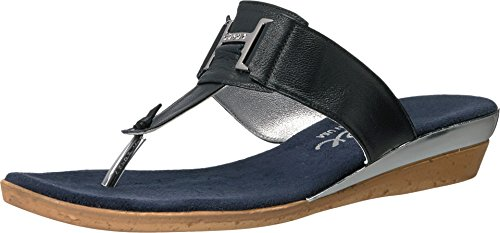 onex-womens-harriet-navy-leather-sandal