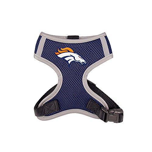 Hip Doggie NFL Team Harness Broncos Vest, (Bronco Vest)