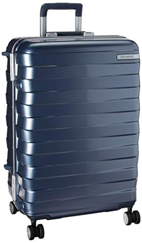 (Samsonite Checked-Medium, Ice Blue)