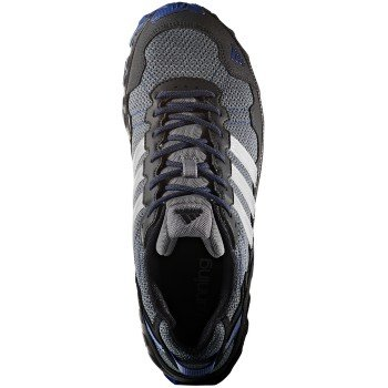 adidas Men's Rockadia Trail M Running Shoe (8.5 D(M) US, Grey/White/Royal)