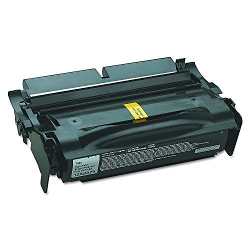 (Lexmark High Yield Return Program Toner Cartridge, 12000 Yield (12A8425))