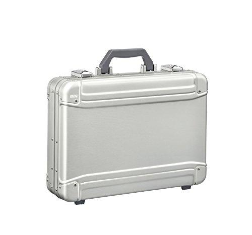 (Zero Halliburton Geo Aluminum 3.0 Large Hardsided Attache Case in Silver)