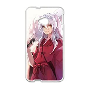 Inuyasha HTC One M7 Cell Phone Case White Qebsq