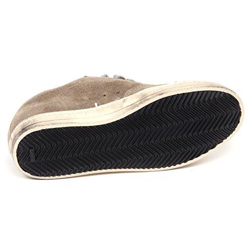 E6 Donna John Vintage Woman P448 Scarpe D2802 Tortora Sneaker Shoe qtwx5gqOP