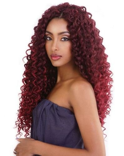 (Mane Concept Afri-Naptural Caribbean Bundle Series - Beach Curl 18 CB1804 (T1B/27 - Off Black/Honey Blond))